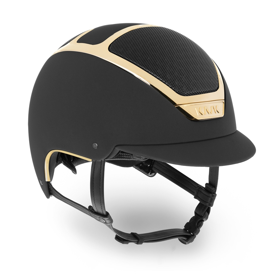 KASK Dogma Chrome Light Gold Reithelm inkl. Liner