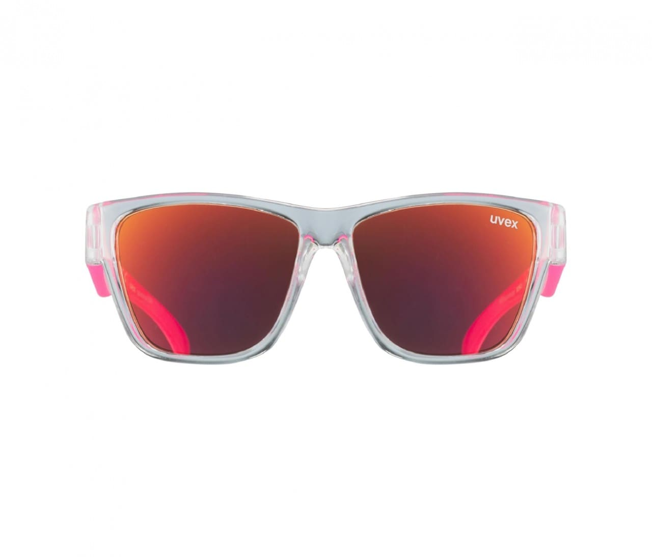 Sonnenbrille sportstyle 508 ONE SIZE Clear - Pink