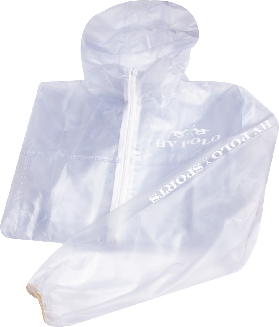 Raincoat Transparent XL Weiss