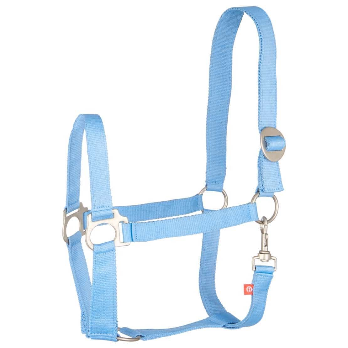 Halfter Nylon IRH-Economic PONY Blau / Silber