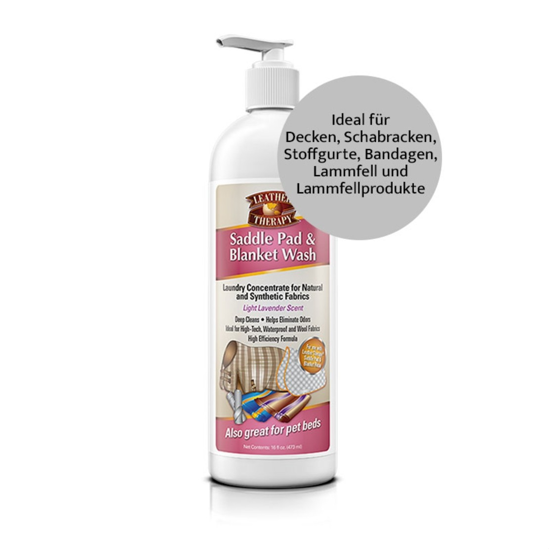 Leather Therapy Laundry Wash 475ML Standard