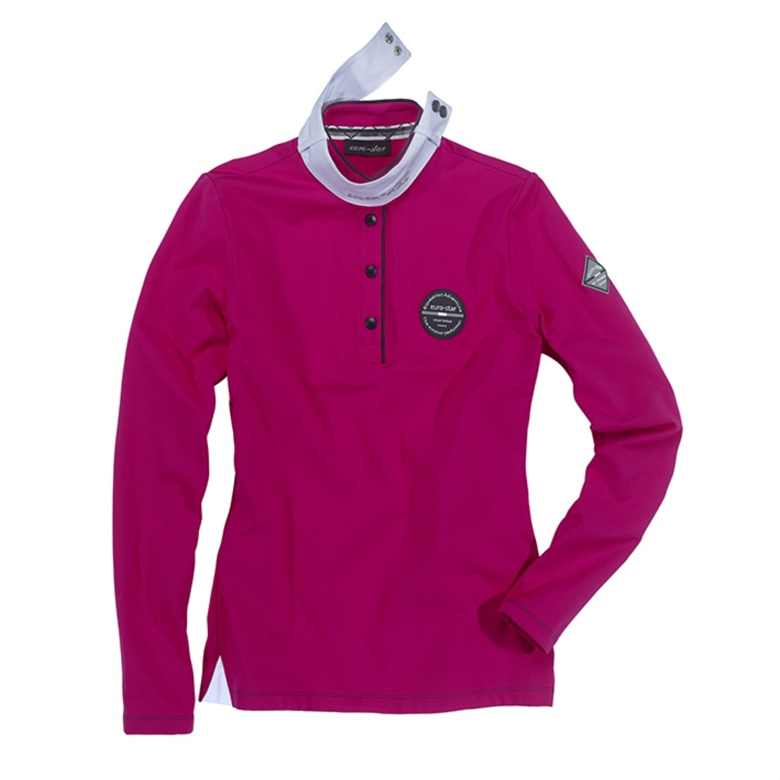 Ladies Shirt Petra L Raspberry