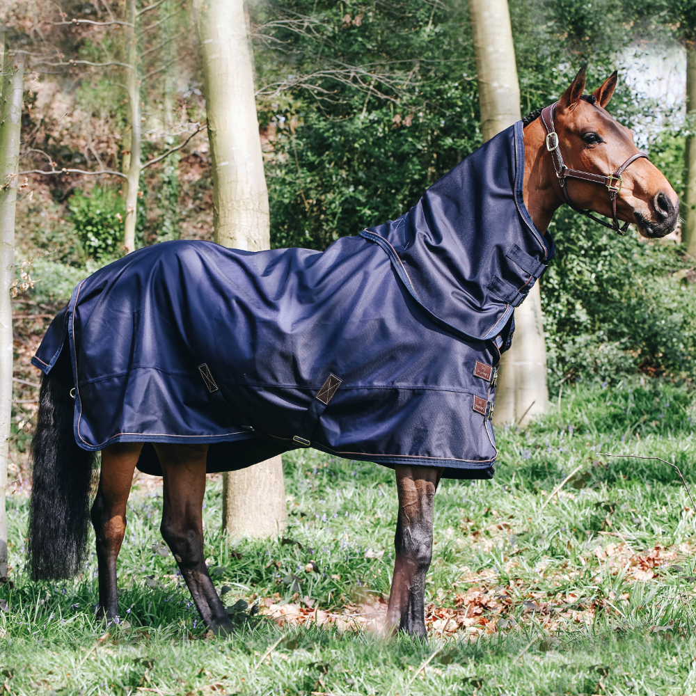 Kentucky Horsewear All Weather Turnout 0g - marine