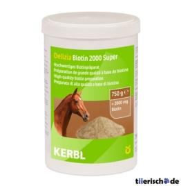 Biotin 2000 Super Ergänzungsfuttermittel für Pferde, 750g