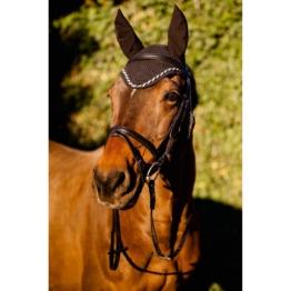 Fliegenhaube Classic für Pferde, schwarz