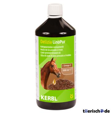 Leinsamenöl LinoPur für Pferde, 1000 ml