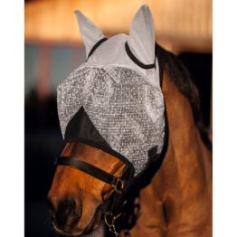 Pferde Fliegenmaske mit Ohrenschutz, Pony