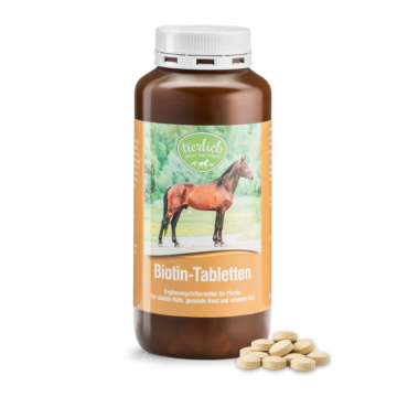 tierlieb Biotin-Tabletten für Pferde