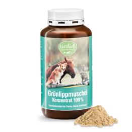 tierlieb Grünlippmuschel-Konzentrat 100 % für Pferde, Hunde, Katzen