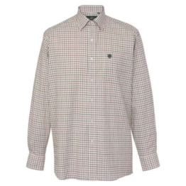 Alan Paine Kinder Hemd Ilkley Red Check