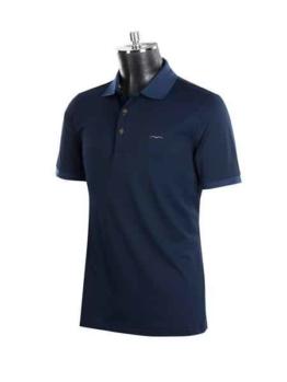 Animo Herren Turnier Poloshirt Amalfi Ombra-dunkle blau