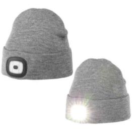 Chillouts Chill Light Kind Mütze mit Licht Grau