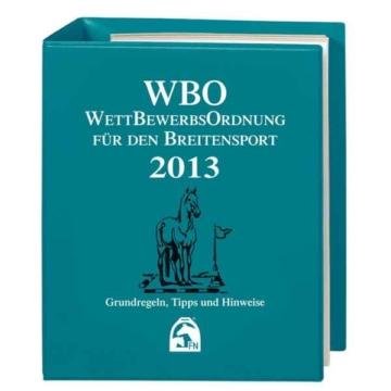 FN Verlag Wettbewerbsordnung für den Breitensport WBO 2018