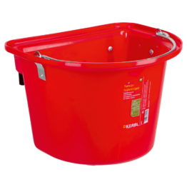 Futtertrog Turniereimer, 12 l, rot