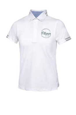 Pikeur DARIO JUNIOR TURNIERSHIRT white