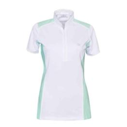 Schockemöhle Sports Palina Turniershirt Damen smaragdwhite