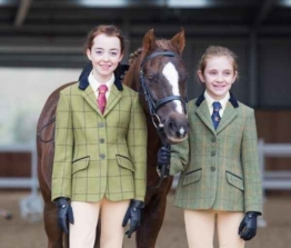 Shires Aubrion Saratoga Kinder Tweed Jacket