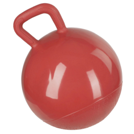Spielball für Pferde, rot, 25 cm