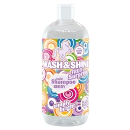 Wash&Shine Pferde Shampoo von MagicBrush, Fruit Surprise, 500ml